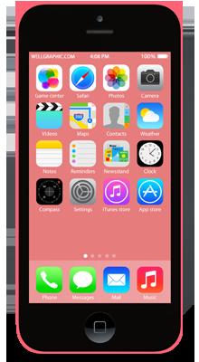 תיקון אייפון 5C