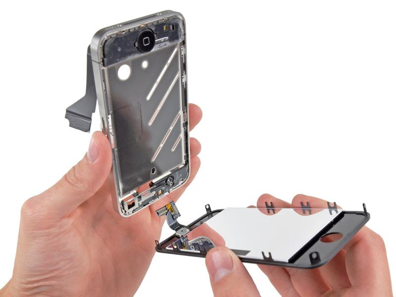 תיקון מסך אייפון 4